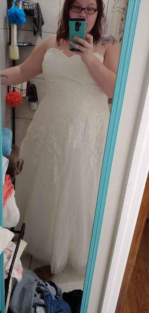 Budget Wedding Dress - 1