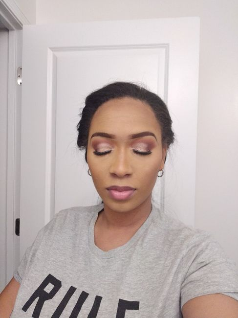 Makeup trial with pics- fh hates it 5