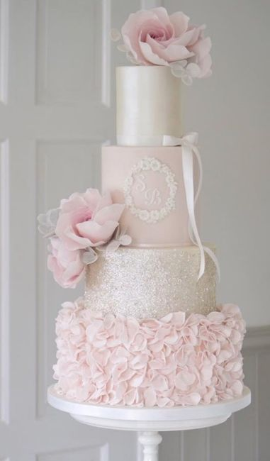 How much did you spend for your wedding cake? Is $1,000k too much. 3