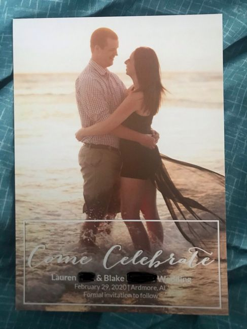 Show me your Save the Dates! 14