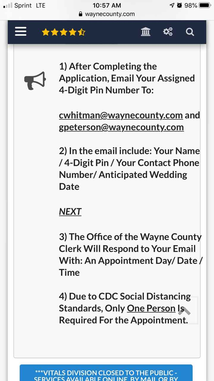 Marriage License - 1