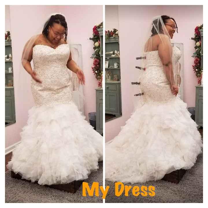 i am having dress regret - Advice please!! - 2