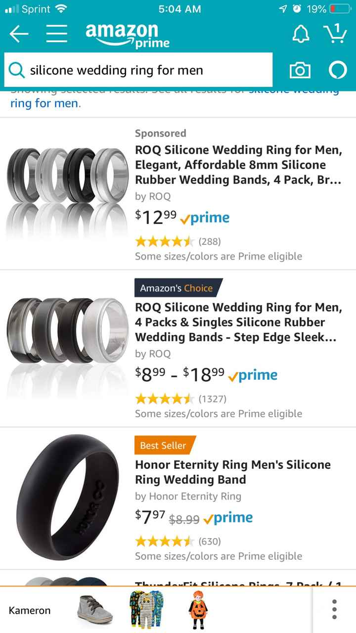Silicone bands - 1