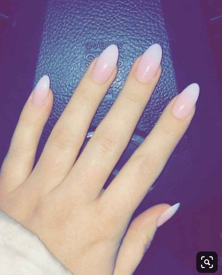 Nails on Wedding Day - 1