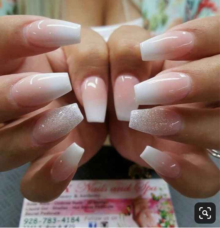 Nails on Wedding Day - 2