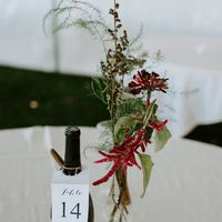 Table numbers are also guest books