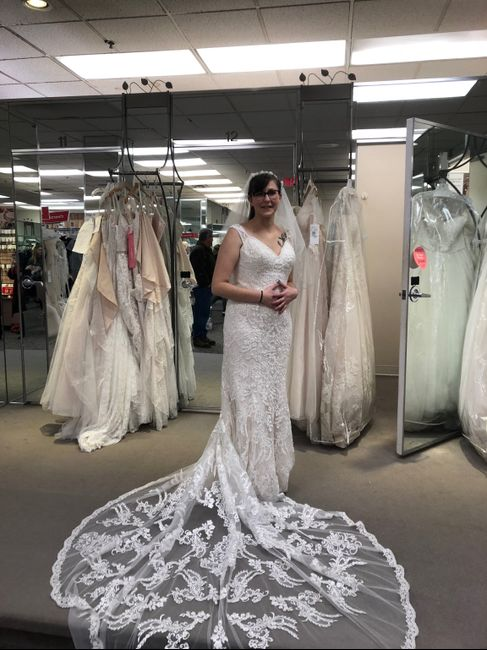 2020 wedding dresses!! Just bought mine!! 1