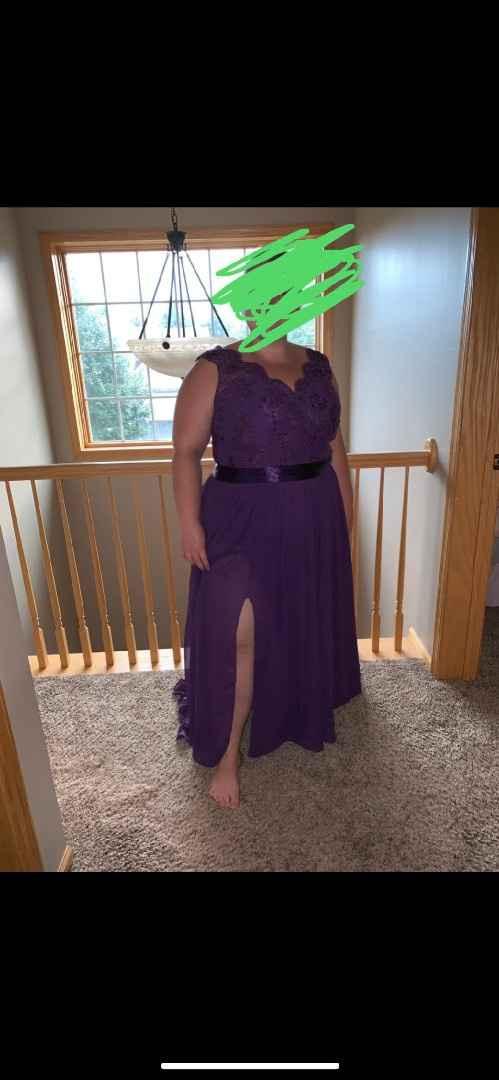 Bridesmaid Dress 1  Front