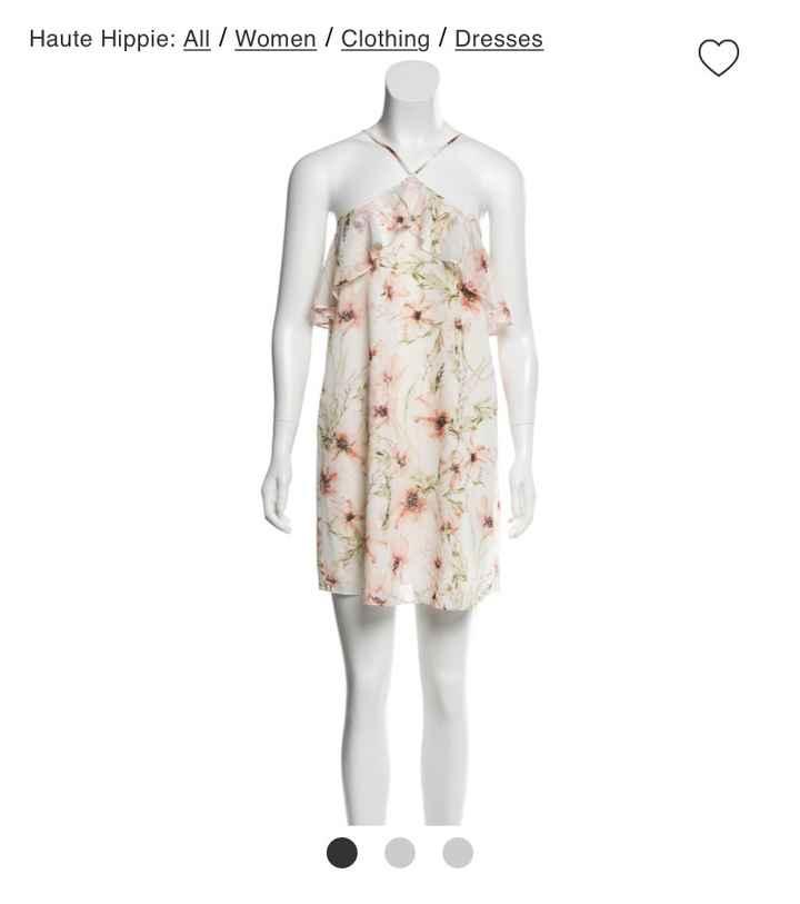 Bridal Shower dresses.. let me see Them! - 1