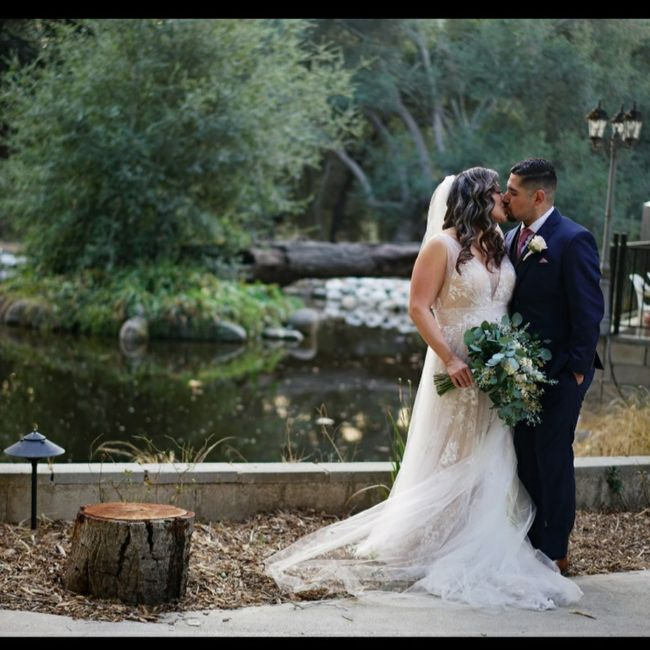 Repost. 11/21/20 we did it!! We're  married!!! Meet the Castros! - 3