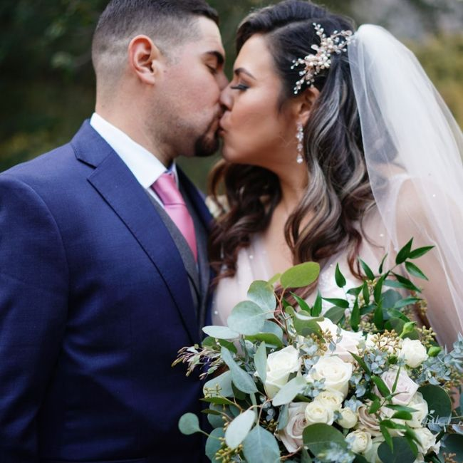 Repost. 11/21/20 we did it!! We're  married!!! Meet the Castros! - 6