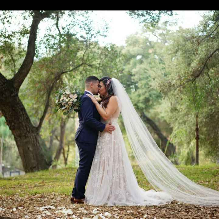 Repost. 11/21/20 we did it!! We're  married!!! Meet the Castros! - 1
