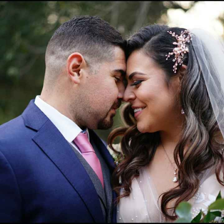 Repost. 11/21/20 we did it!! We're  married!!! Meet the Castros! - 5