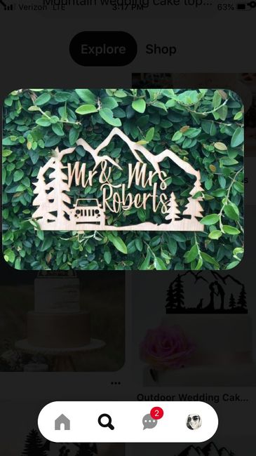 Need Mountain themed wedding decor ideas - 1