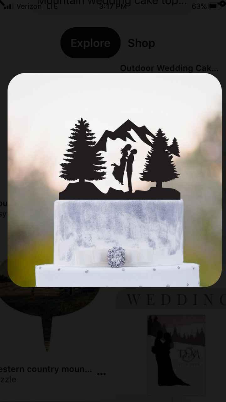 Need Mountain themed wedding decor ideas - 2