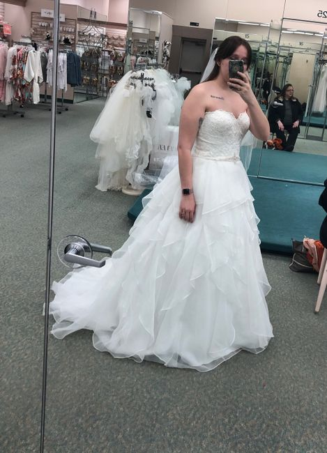 Did you say yes to the dress? 15