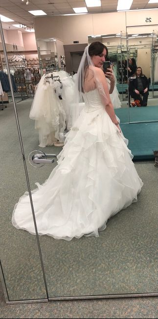 Did you say yes to the dress? 16