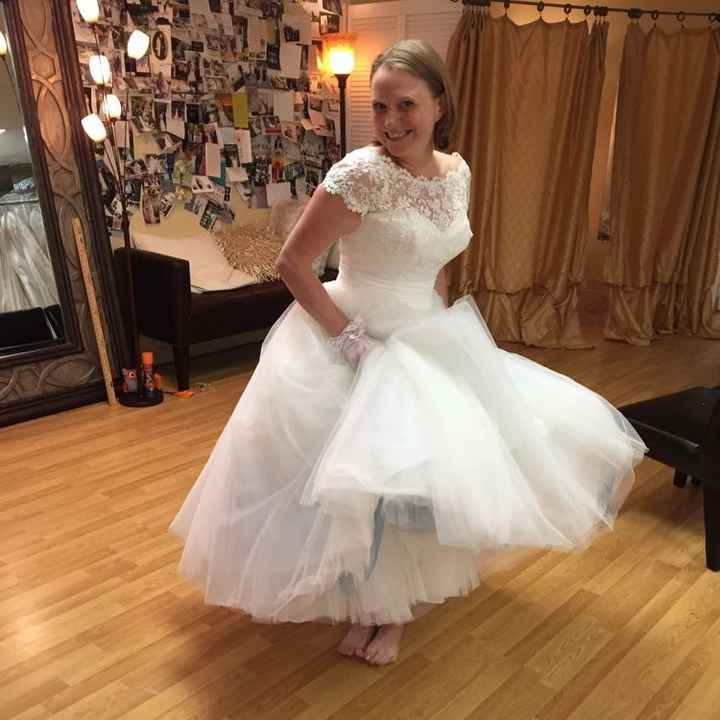 """My dress :)?/when people reply, """"that's YOUR STYLE."""""""