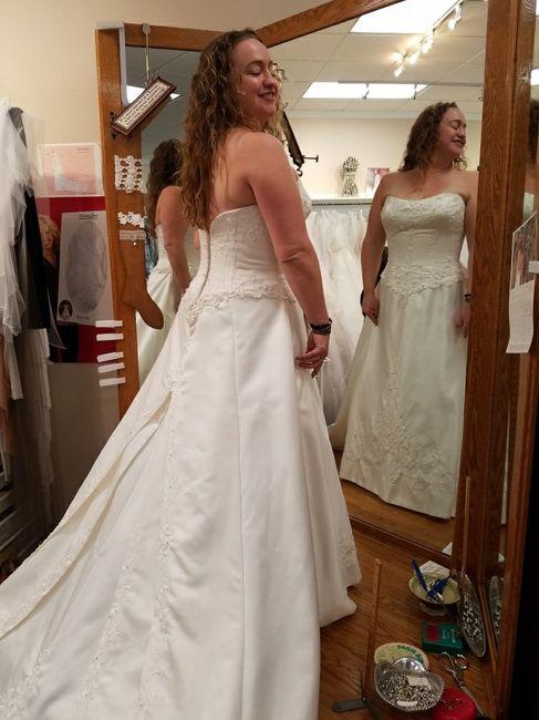 Final Fitting Done Weddings Wedding Attire Wedding Forums