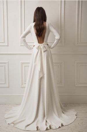 another dress with the bow, I would want it basically the same place :)
