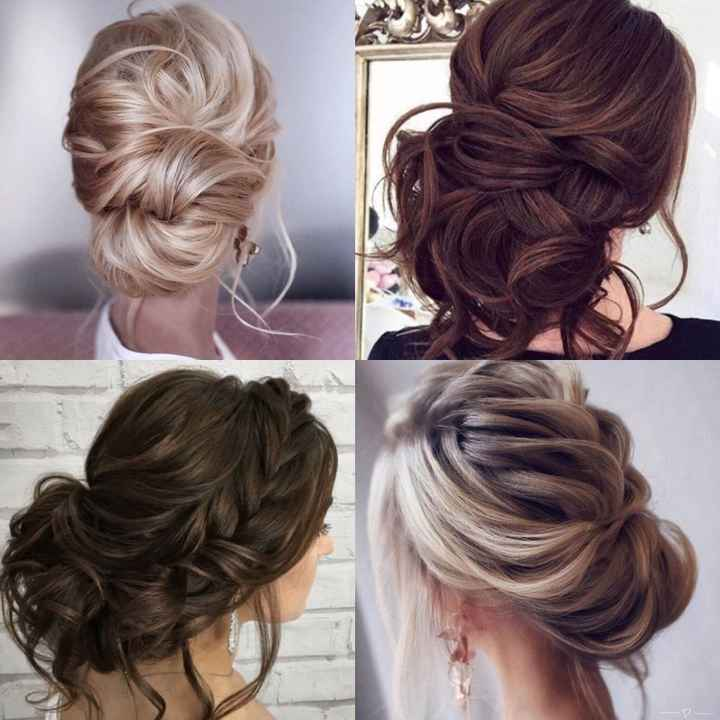 Bridesmaids hair up or down? - 3