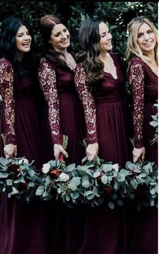 Color scheme for wedding - 3