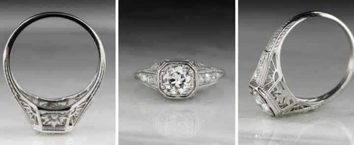 Anyone's ring an antique/estate sale/vintage? 2