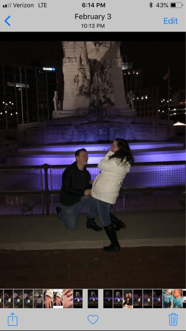 Was your proposal caught on camera? Share your proposal pic! 8