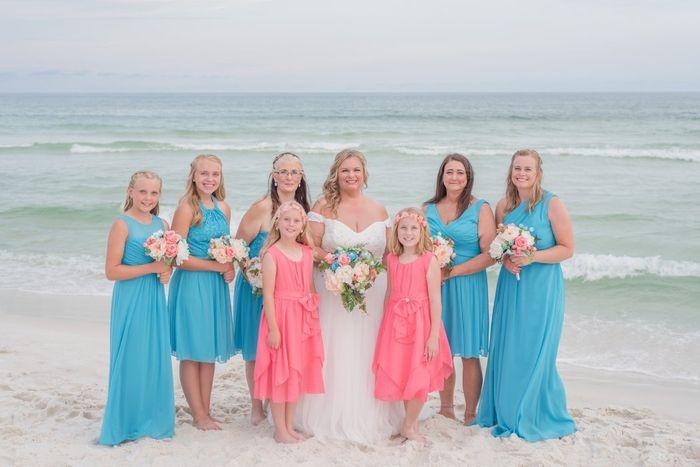 Coral wedding color! 1