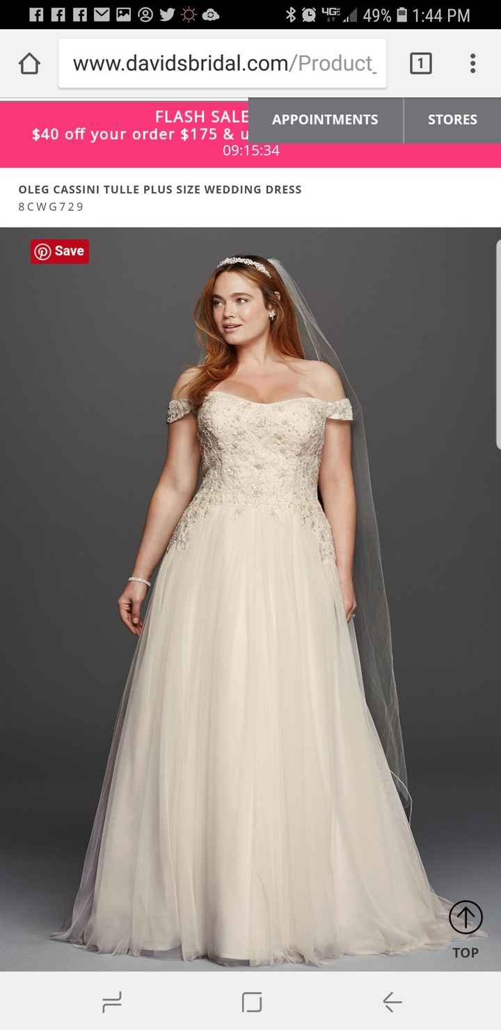 Show me you Davids Bridal Dress - 1