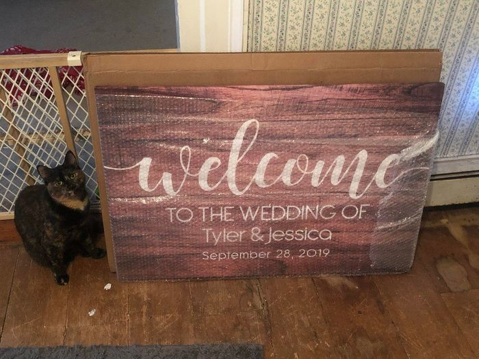 Where to get welcome sign printed 3