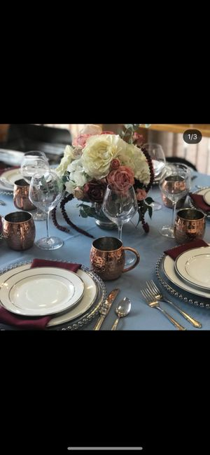 Need me some serious tablescape help! 1