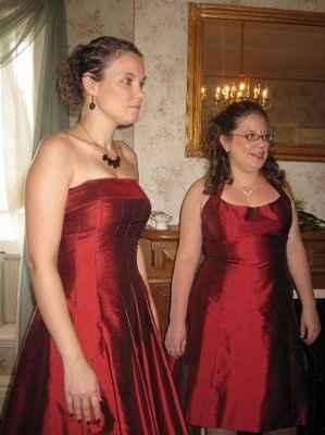 Fall Wedding - Bridesmaid Dresses