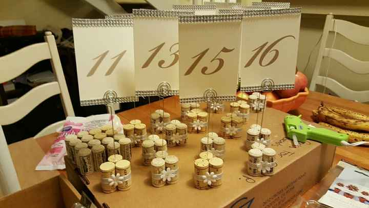 Table numbers!