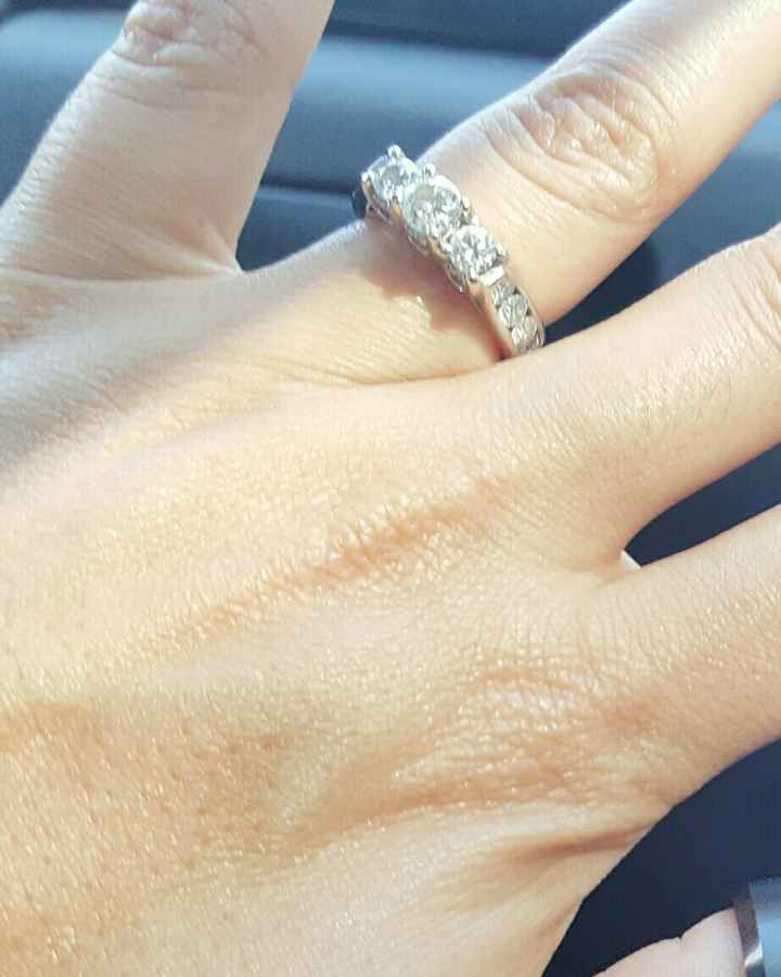 Show me your three stone rings!