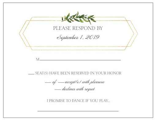 We added it to our RSVP cards. We're not sure if everyone will actually fill it out but thought it w