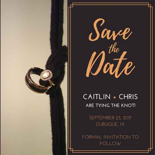 Show me your save the dates!