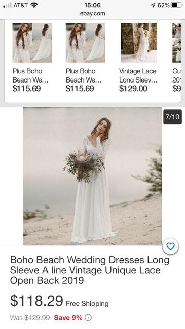 Wedding dress website 2