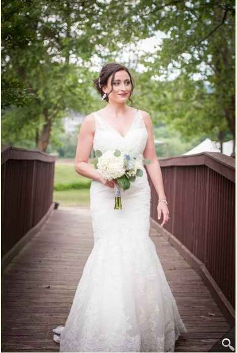 Show Me Your Wedding Dresses And Tell Me Where They Are From And The Cost Weddings Wedding Attire Wedding Forums Weddingwire Page 2