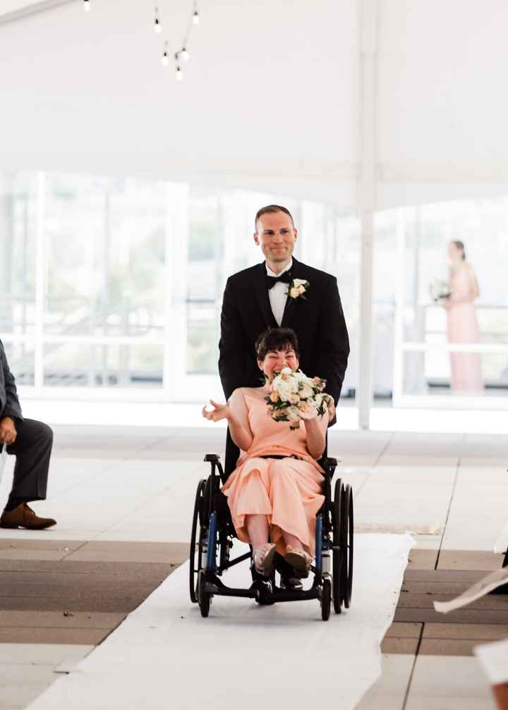 How do i incorporate my 3yo autistic stepdaughter in the wedding? 1