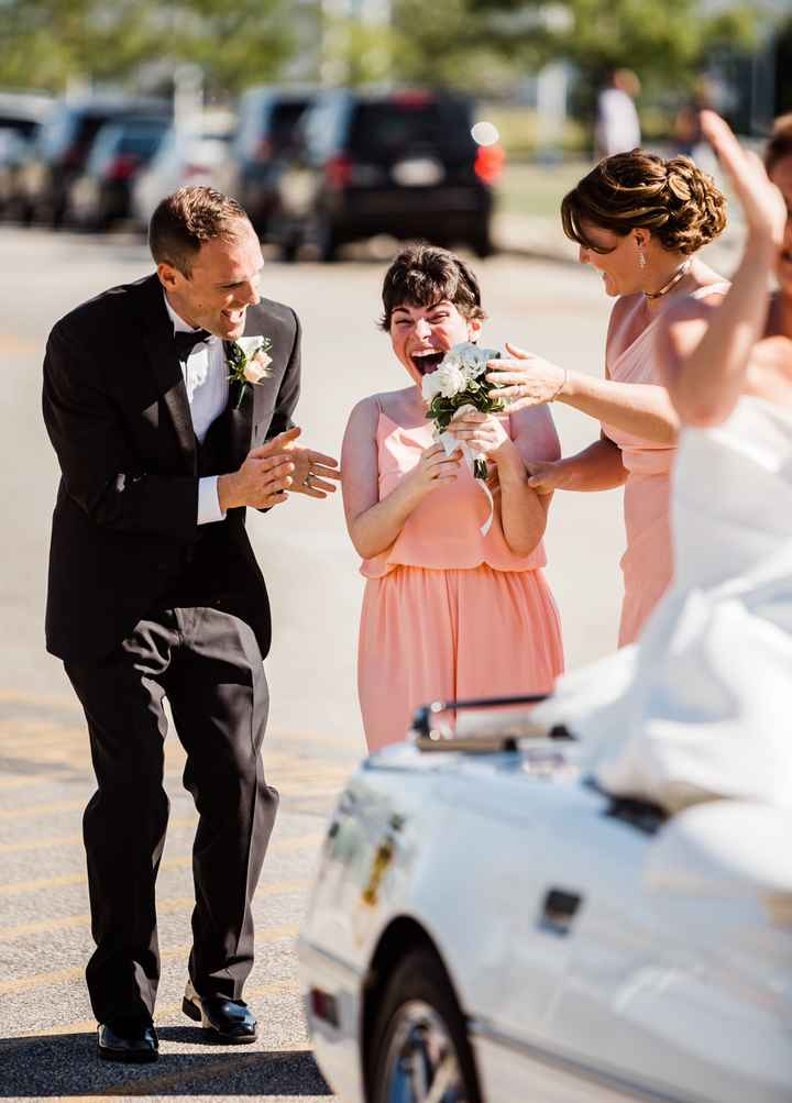 How do i incorporate my 3yo autistic stepdaughter in the wedding? 3