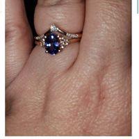 Wedding band/wrap vs diamond - 1