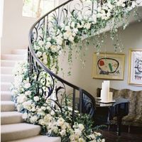 Staircase Floral Arrangement - 1