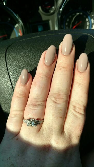 Wedding nail color. Give me your opinion! | Weddings, Wedding Attire ...