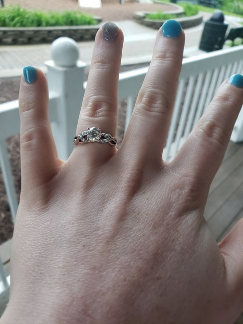 Adding side stones to engagement ring 4
