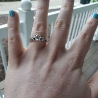 Adding side stones to engagement ring - 1