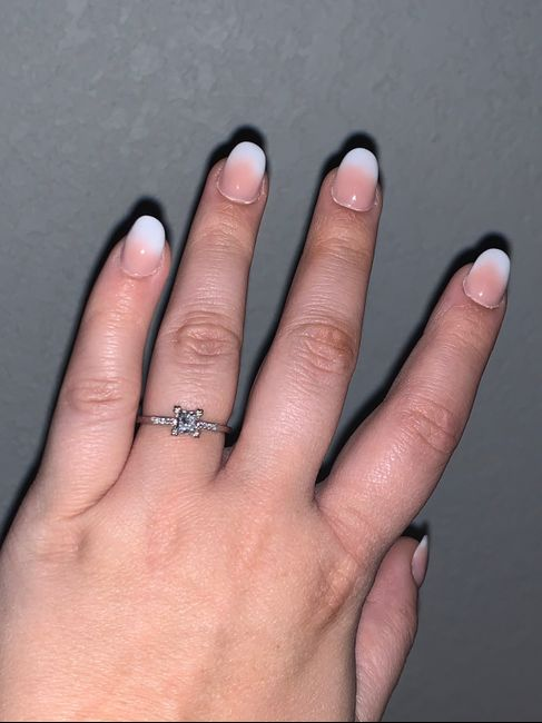 Did you pick out your own ring? 1