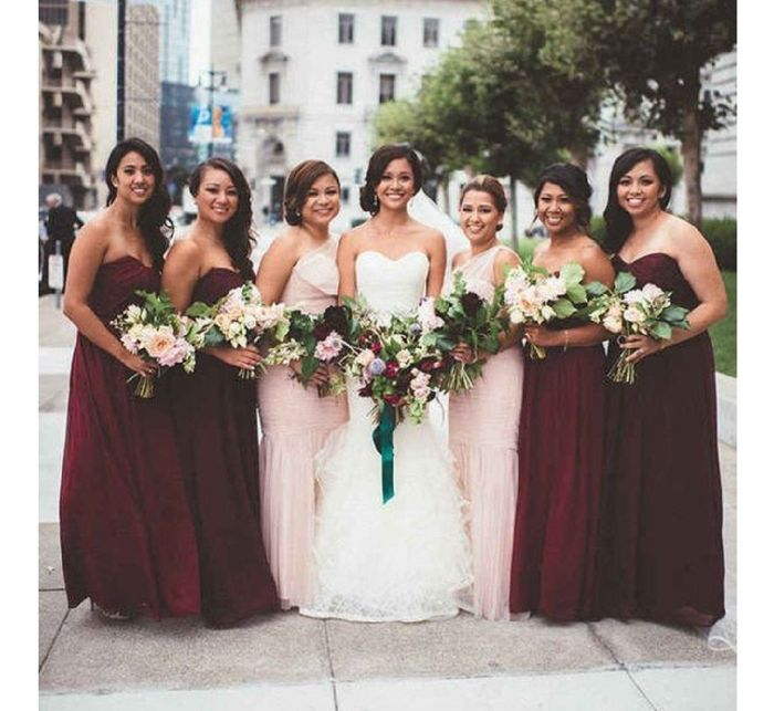 Mix and match bridesmaid dresses 3