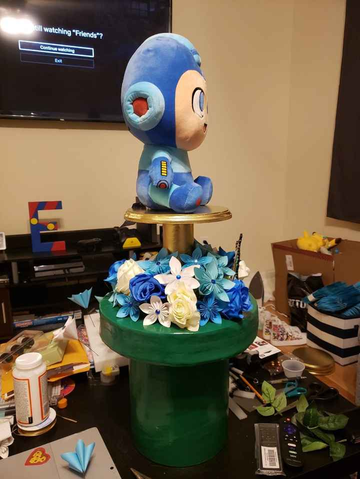 Nintendo Centerpiece of Mega Man 4