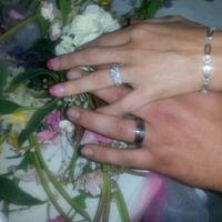 Show off your E-ring and wedding band!!!
